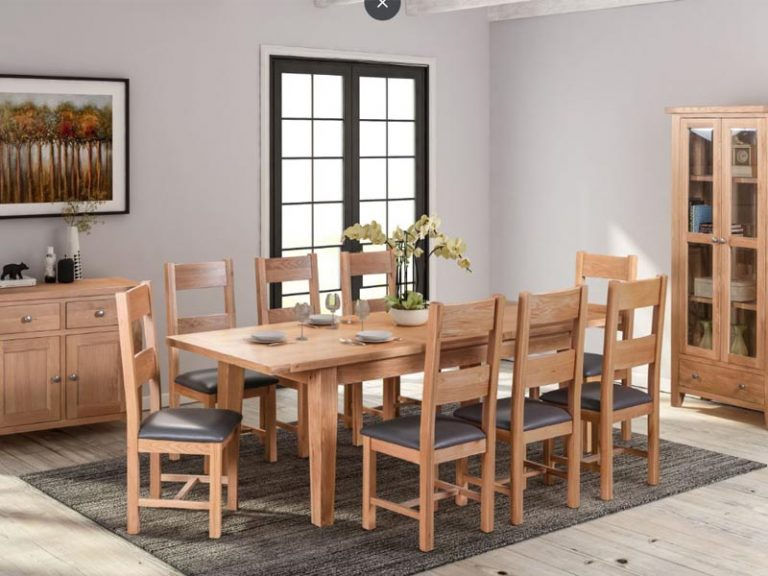 Hardwick Light Oak Dining Tables
