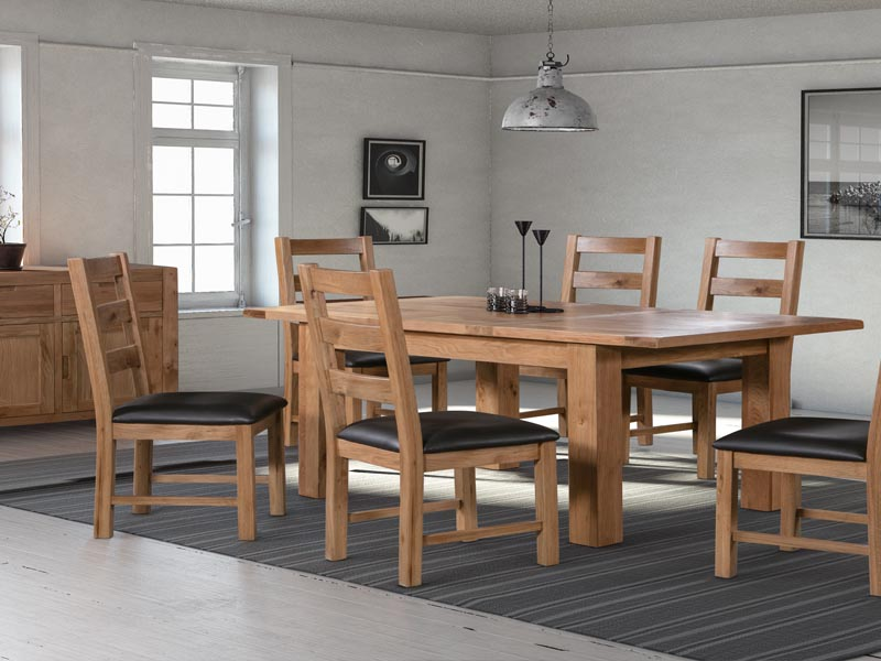 Loxley oak dining room furniture