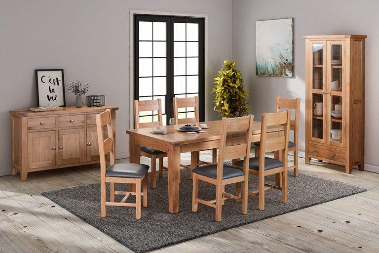 Focus on Light Oak Furniture – furnishing an open plan area