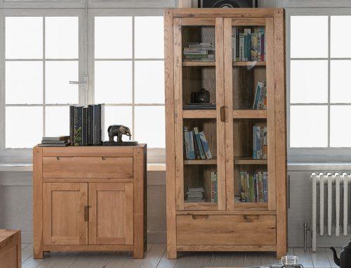 Oak Glazed Display Cabinets
