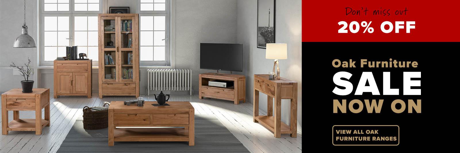Oak furniture sale