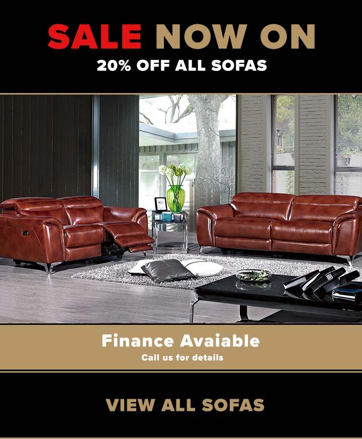 Sofa sale now on